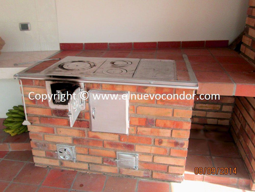 El Condor Estufas De Leña Y Carbón Fundición De Hierro Bronce Y Aluminio